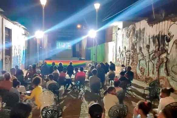 AfroAtenAs, surgido en 2009, se desarrolla en la localidad de Pueblo Nuevo, de la ciudad de Matanzas. Foto: Cortesía de AfroAtenAs